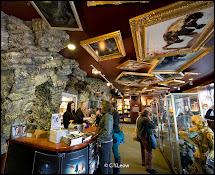 Man Lens Weta Cave In Miramar Wellington