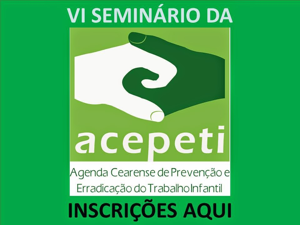 VI SEMINÁRIO DA ACEPETI - 18/11/2014