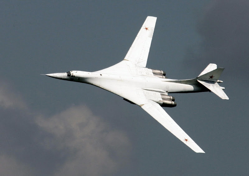 Tu-160 Blackjack Intercontinental Strategic Bomber