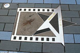 Estrella de Bruce Lee en la Avenida de las Estrellas de Hong Kong