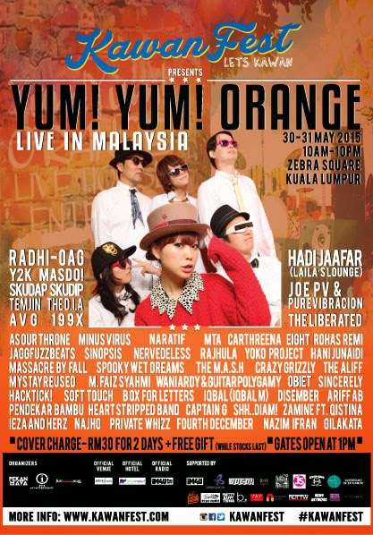 yum yum orange