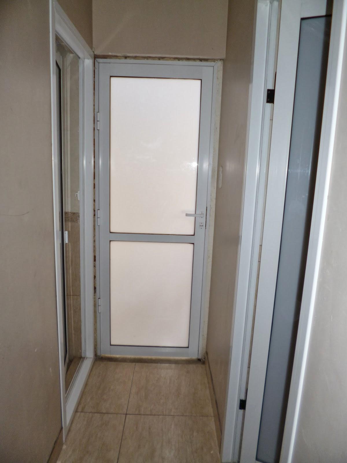 puertas de aluminio para ba o sencillas