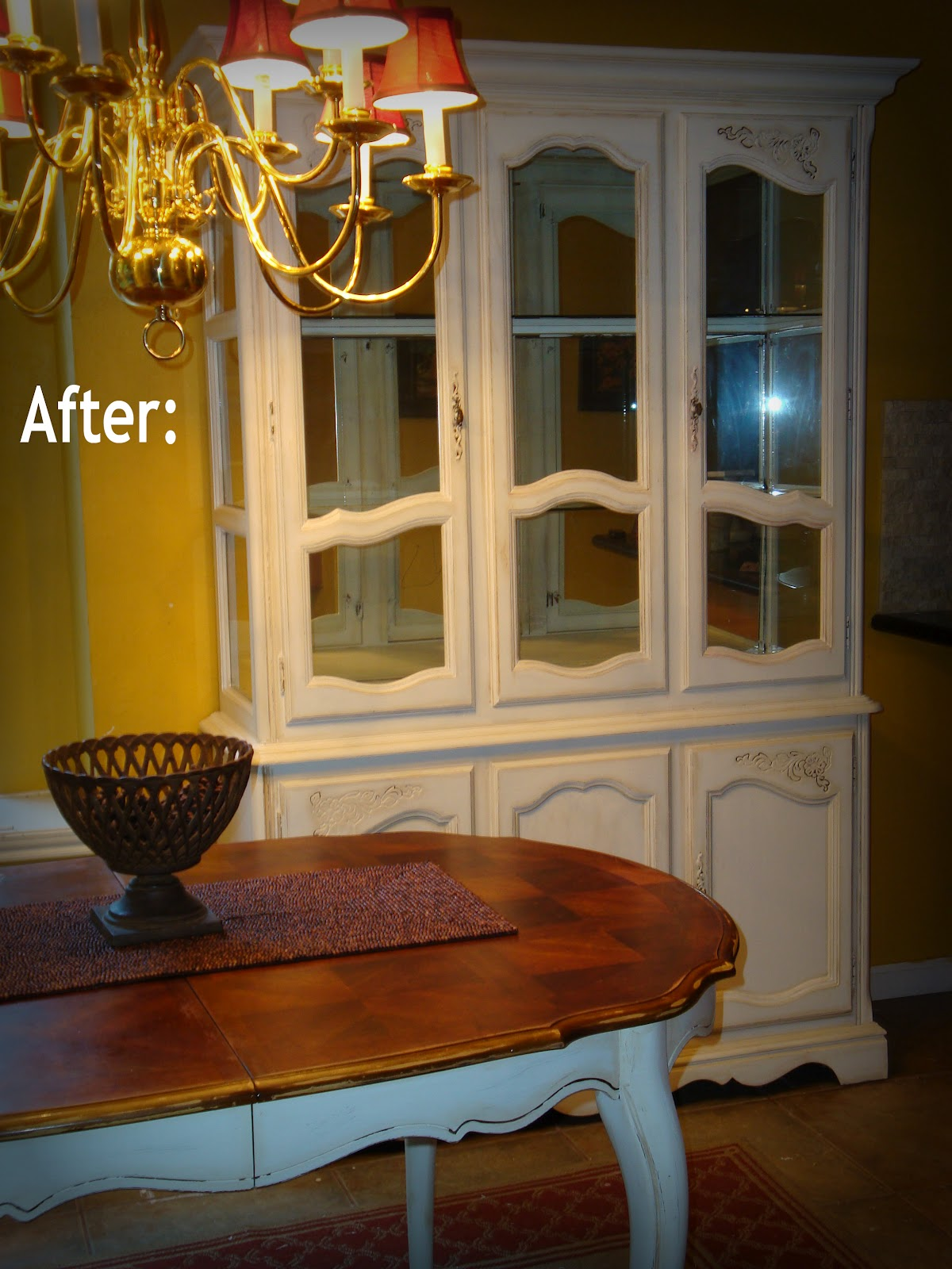 made to love shabby chic china cabinet. Black Bedroom Furniture Sets. Home Design Ideas