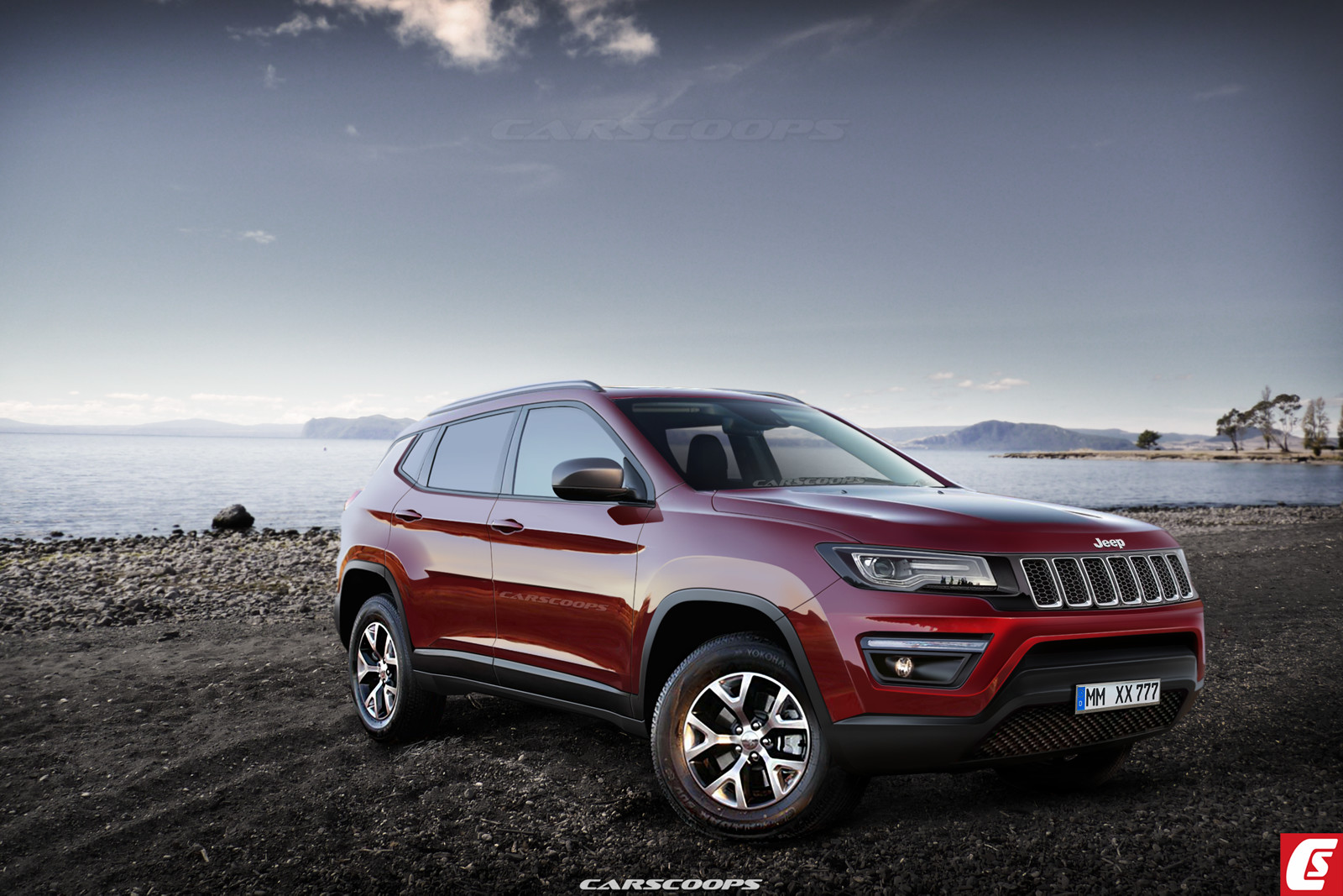 Famoso Future Cars: Jeep's 2017 Compass & Patriot Crossover Replacement  SK99