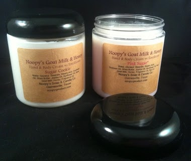 all natural hand and foot cream