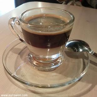 Café bombón al estilo coreano