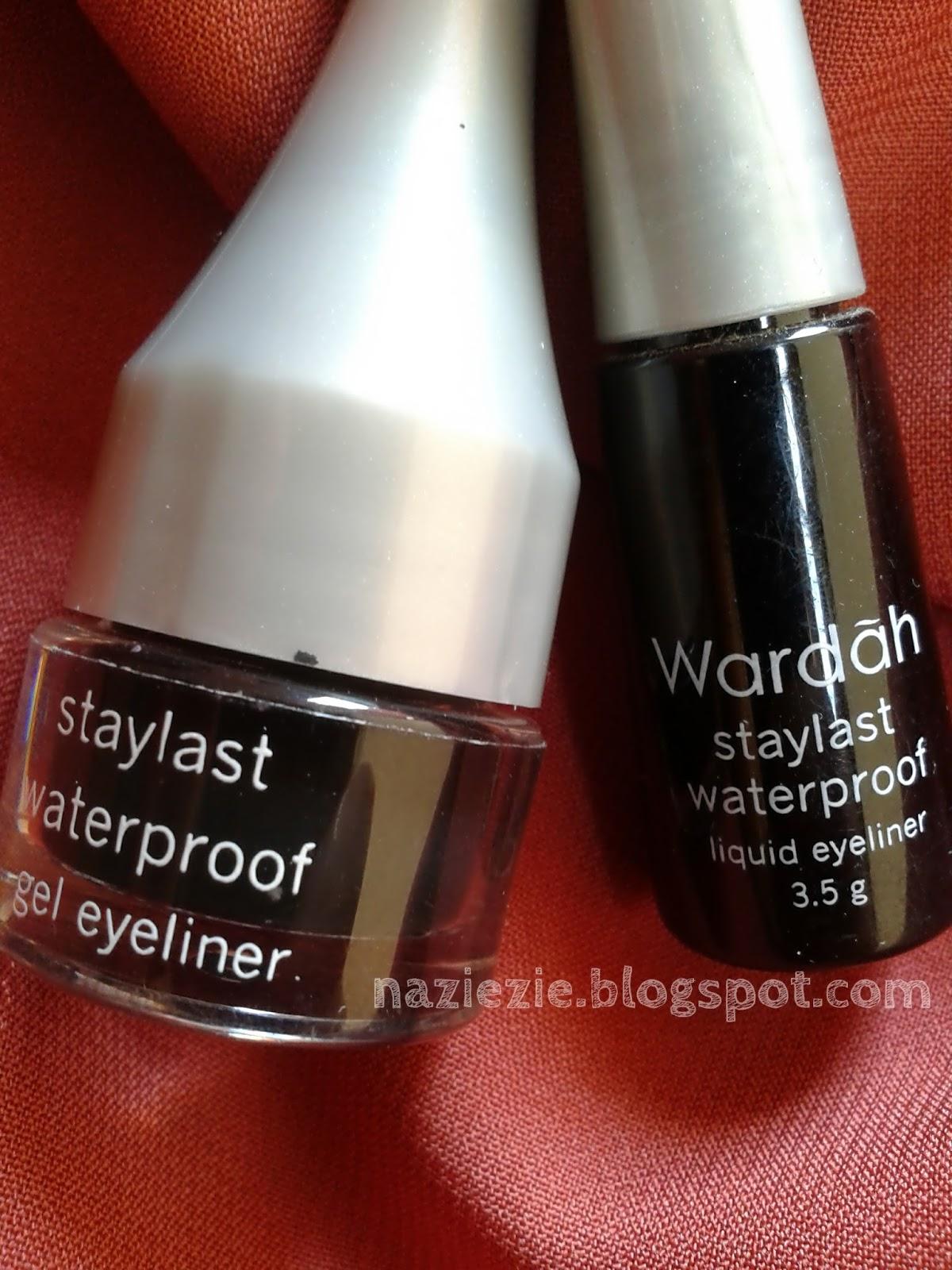 Review Staylast Waterproof Liquid Eyeliner Wardah