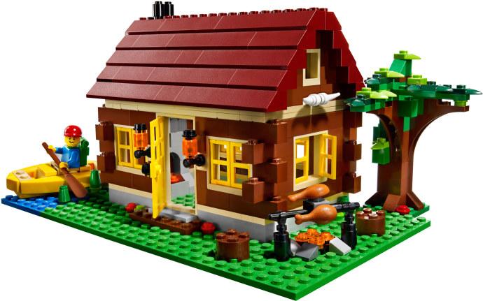 Steve's LEGO Blog: An Easy Medieval LEGO House
