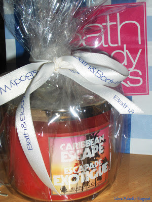 Bath and Body Works Caribbean Escape Candle