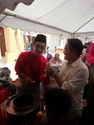 YBM Tengku Zaihan Melayan Pengunjun Rumah Terbuka Aidilfitri Dun Kuala Besut|kuala besut