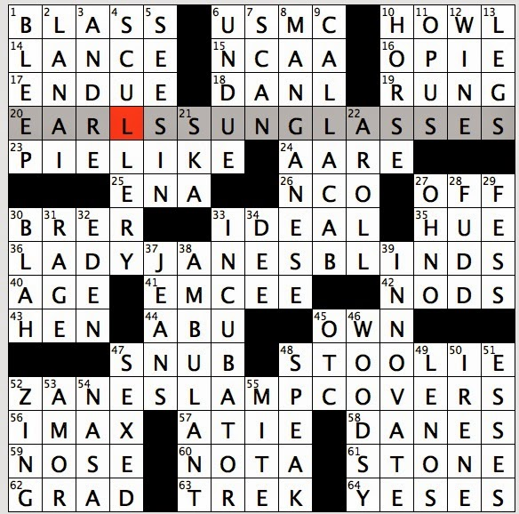 Rex parker does the nyt crossword puzzle anthonys former partner tuesday february 24 2015 urtaz Gallery