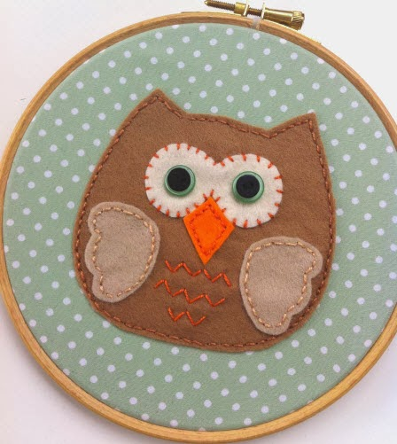 It's A Hoot Fab Fabric Frame