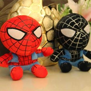 Kado ulang tahun berupa boneka Spiderman lucu untuk pacar atau sahabat.