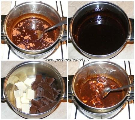 retete si preparate culinare glazura de ciocolata pentru eclere dulciuri prajituri de casa