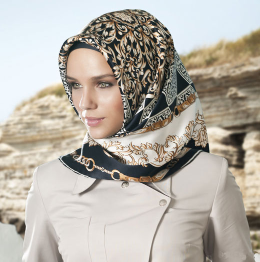 Turkish hijab style think, that