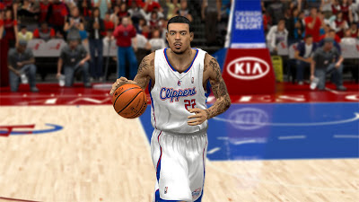 NBA 2K13 Clippers Matt Barnes CF - V2 Darker Goatee