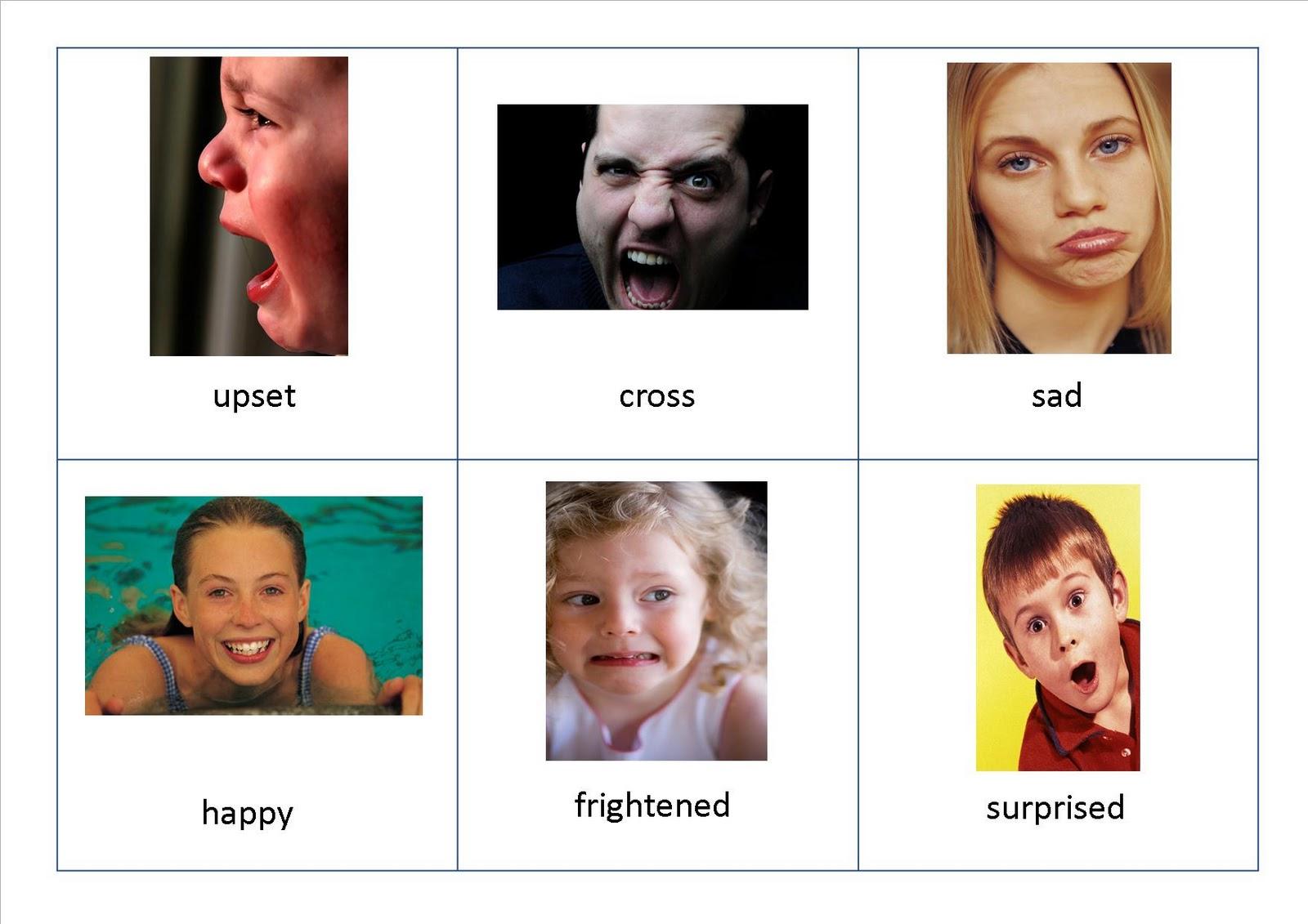 Magic image regarding printable emotion cards