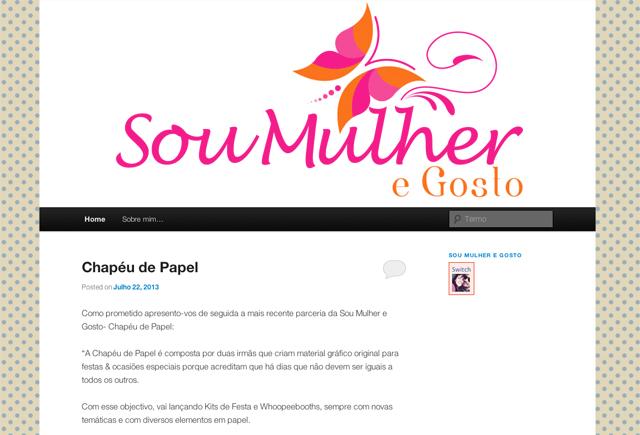 parceria chapeu de papel www.chapeudepapel.com