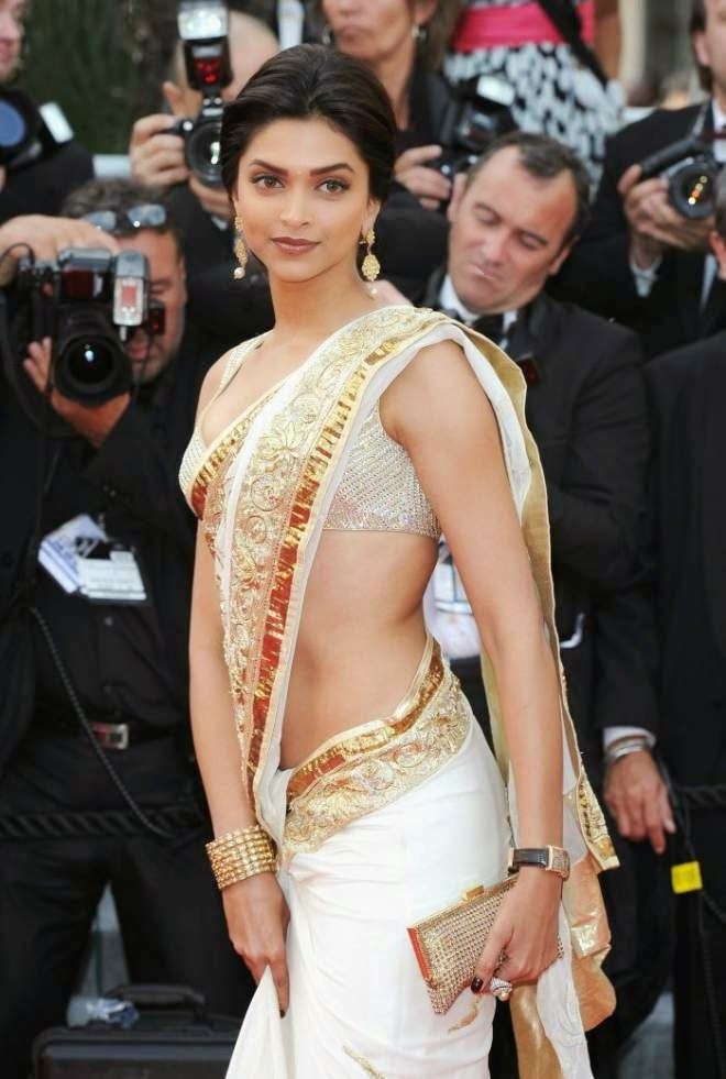 Why Deepika Padukone Low Waist Sarees are Hotter than Jennifer Lawrence Photo