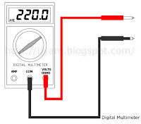 Digital Multimeter AC Volts Function