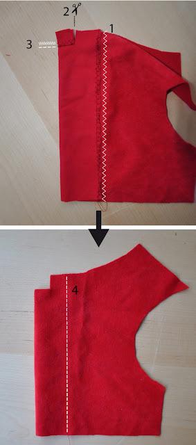 coser vestido navidad para perro