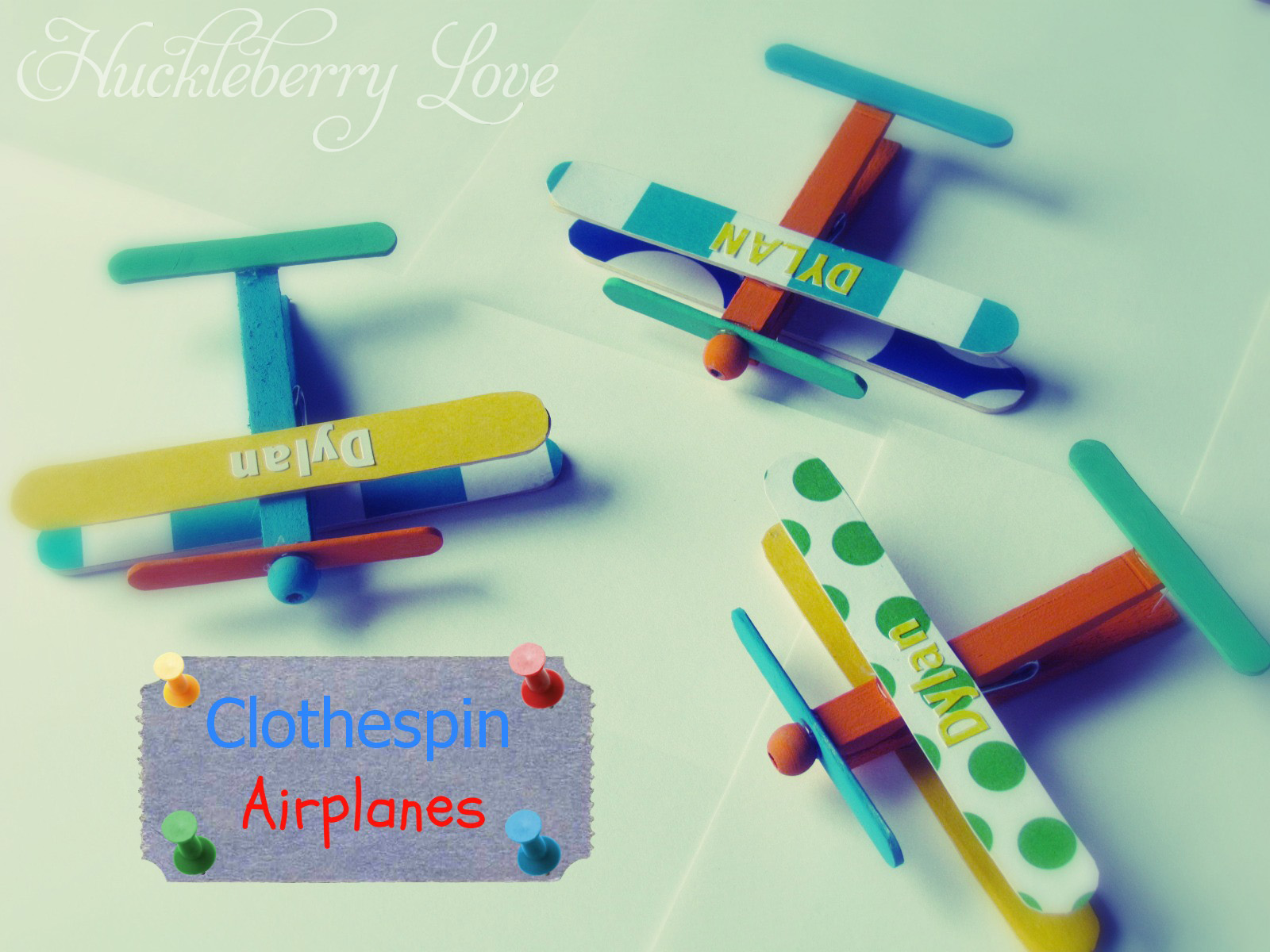*clothespins *2 Different Sizes Of Craft Sticks (I Used Small And Mini)  *craft Beads *paint *mod Podge *scrap Paper *glue Gun
