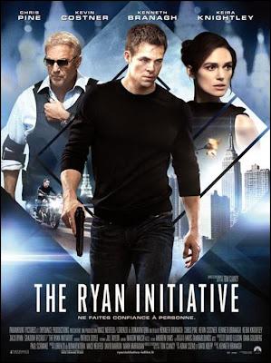 THE RYAN INITIATIVE - découvrez l'affiche du thriller d'action de 2 014 !