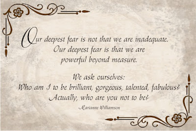 Our Deepest Fear - Quote by Marianne Williamson