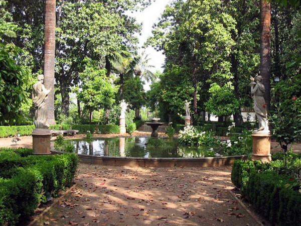 Jardines en la historia jardines de la alhambra de granada for Jardines de gomerez granada