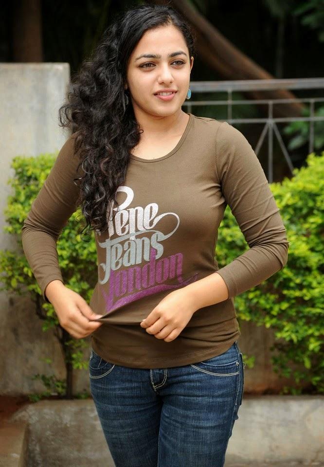 Nithya Menon breast