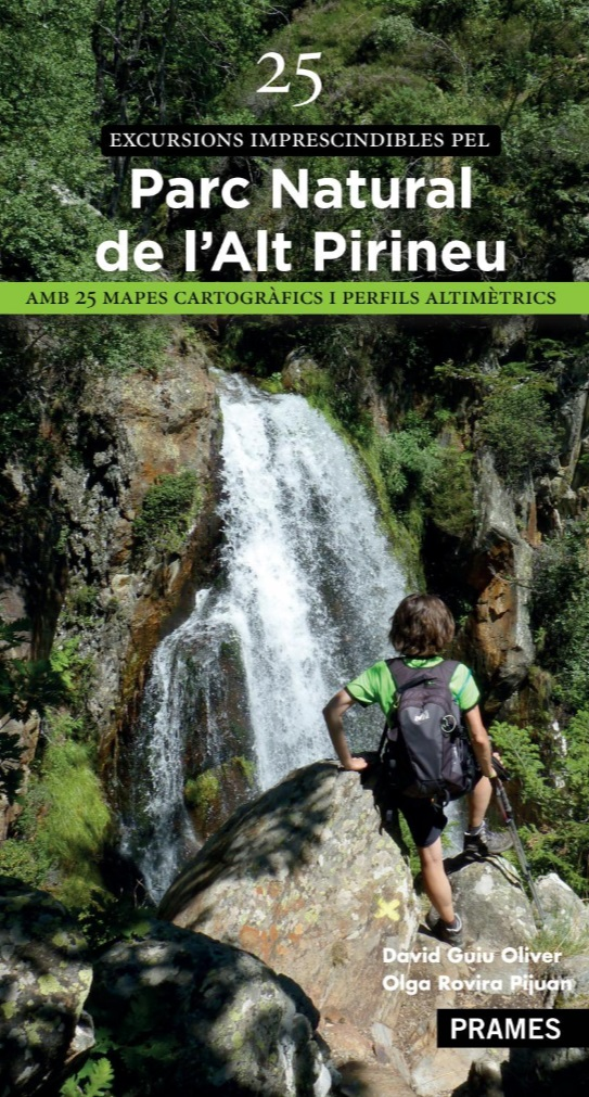 "Ja a la venda: ""25 excursions imprescindibles pel Parc Natural de l'Alt Pirineu"""