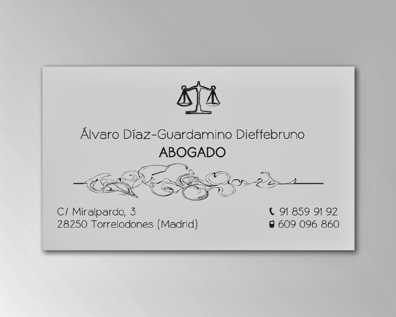 Maria luengo dise o e impresi n de tarjetas de visita for Diseno de oficina para abogados