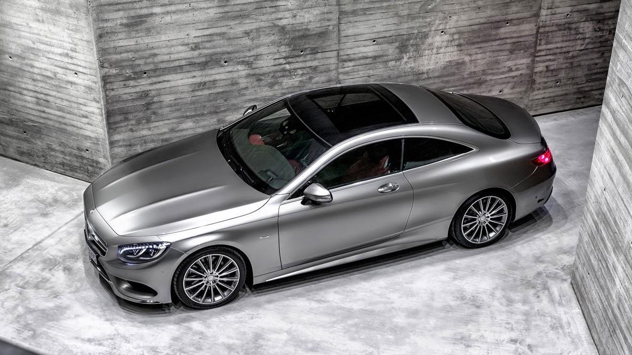 Mercedes-Benz S-Class Coupé top
