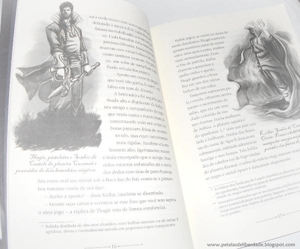 Resenha, livro, O poder verdadeiro, G. Brasman e G. Norris, Verus, ilustrações, trecho