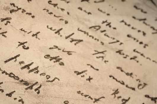 Foto di manoscritto su vanillasnotes