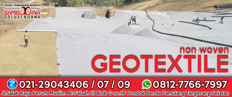 Jual geotextile kalimantan tengah