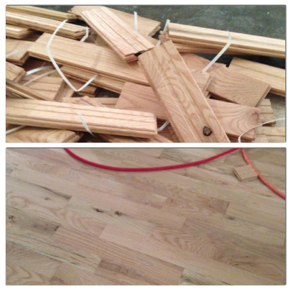 Design Dump A Very Basic Lesson On Installing Hardwood Floors - Best vapor barrier for hardwood floors