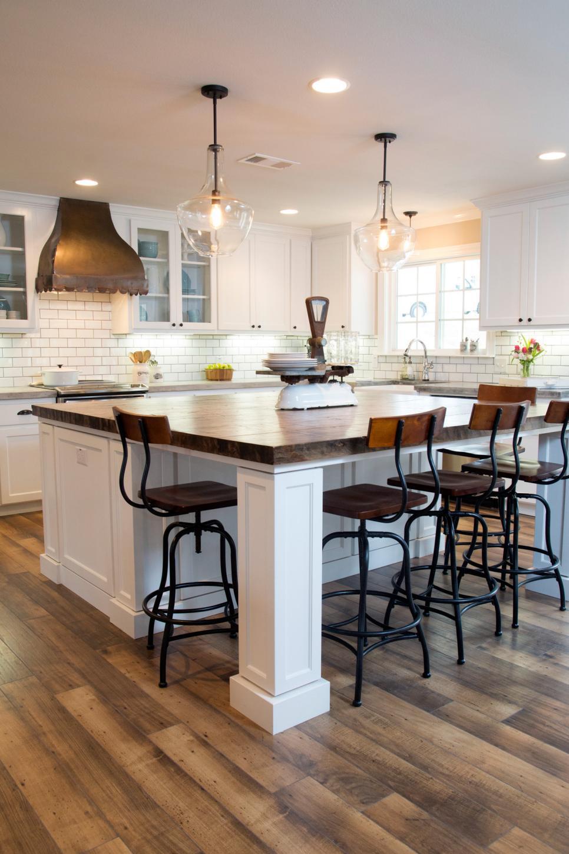 Fixer upper kitchen table - Via
