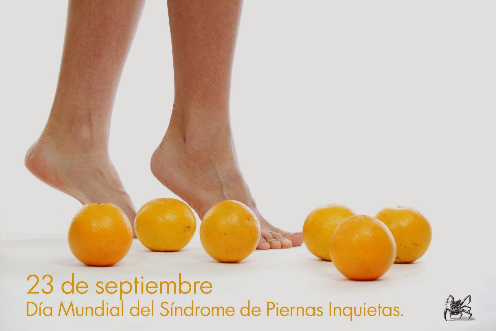 El 23 de septiembre es el día mundial del síndrome de piernas inquietas