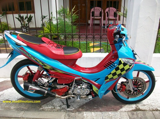 Motor Vega zr Modifikasi Modifikasi Motor Yamaha Vega