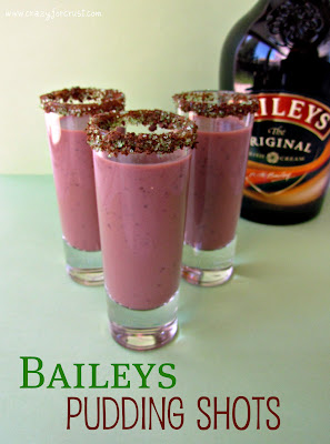 Recipe: Baileys pudding shots