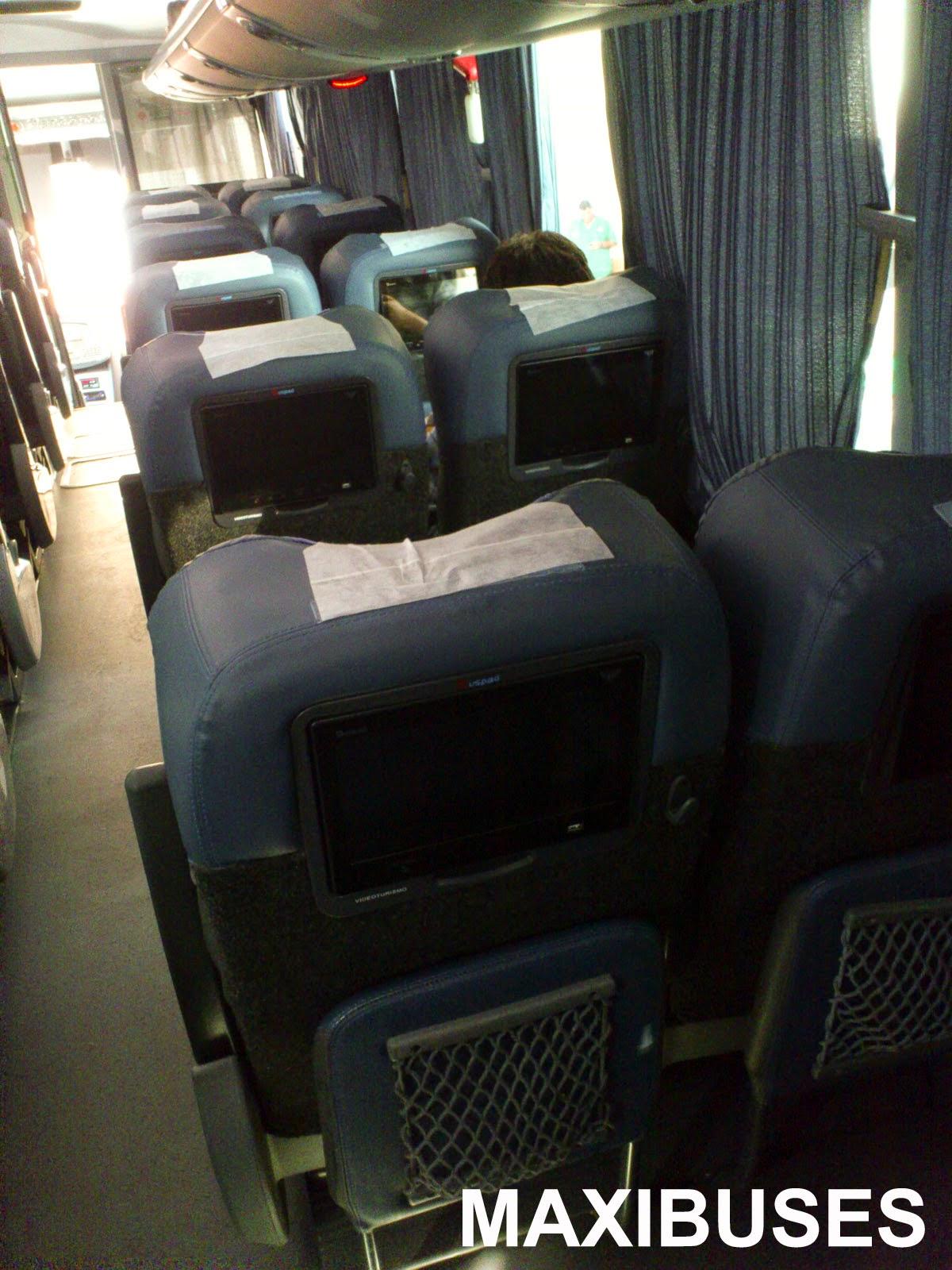 Maxibuses especial autobuses futura select - Cuanto gana un disenador de interiores ...