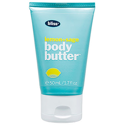 Bliss, Bliss Lemon + Sage Body Butter, body cream, lotion, the best travel beauty products