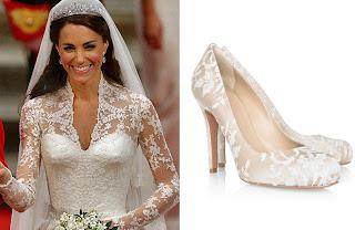 sapatos de noiva alexander mcqueen, sapatos do casamento de kate middleton