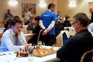 Simen Agdestein gaffe contre Etienne Bacrot © site officiel