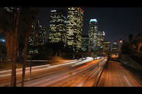 Los Angeles Night Traffic