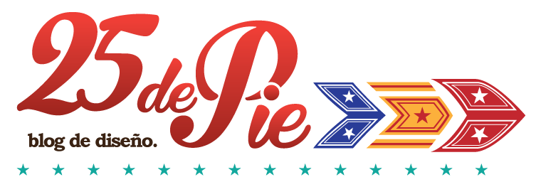 25 de Pie, Blog de Diseño