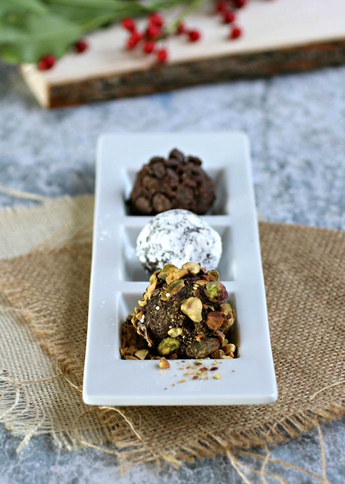 Assorted Chocolate Date Balls