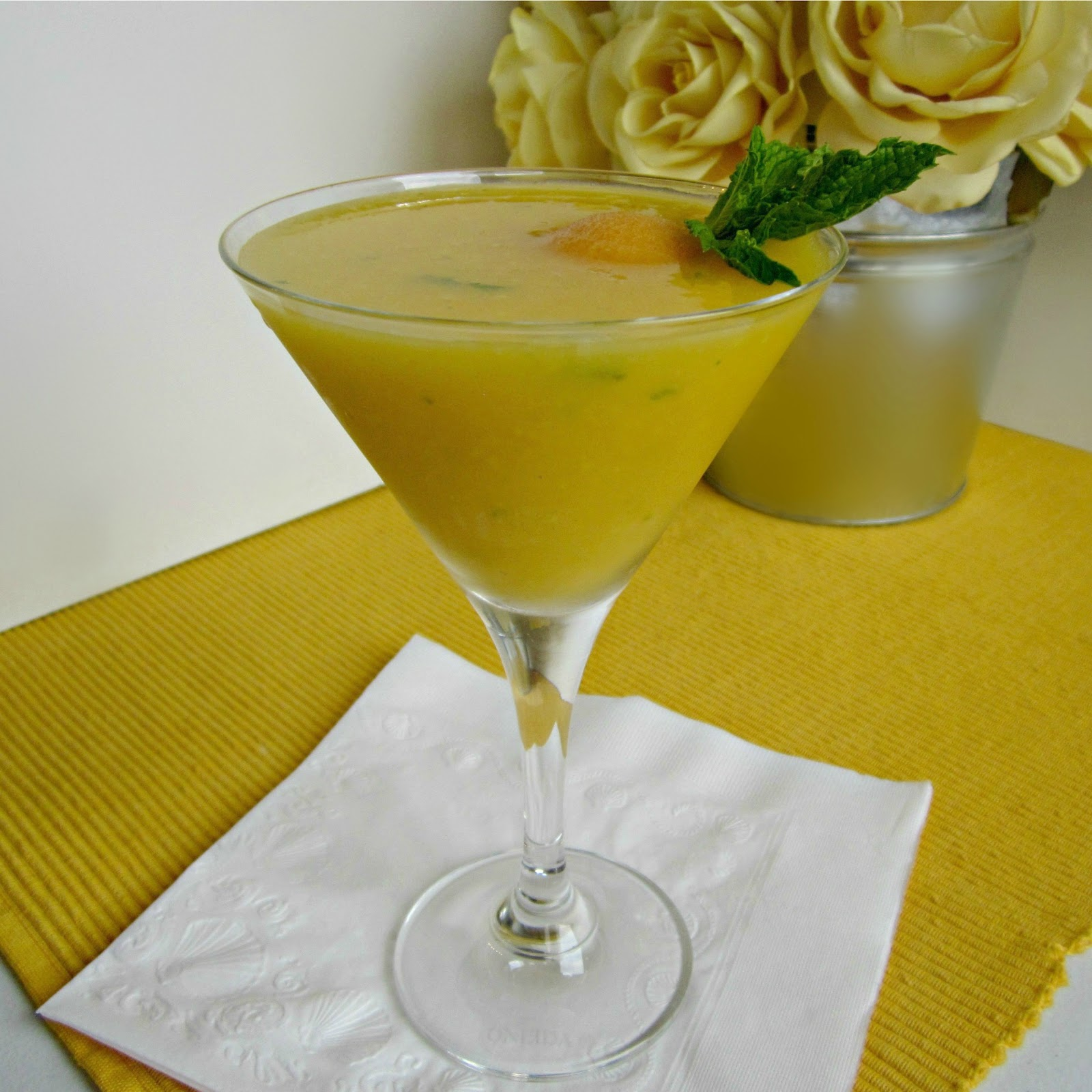 To Make The Mango Puree, Place Peeled And Cut Mango Pieces (see Below)