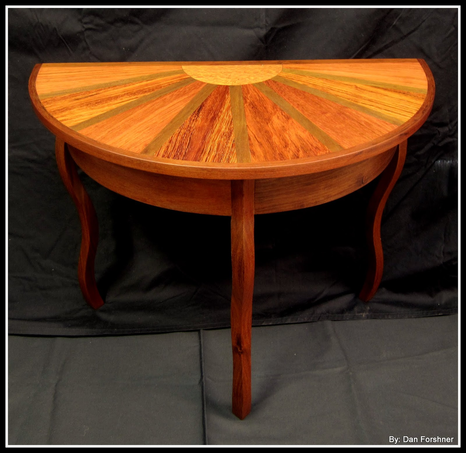 Half Circle Coffee Table Part - 42: This Table Is For Sale Here Http://forshnerdesigns.bigcartel.com/product/ Half-round-sunset-coffee-table